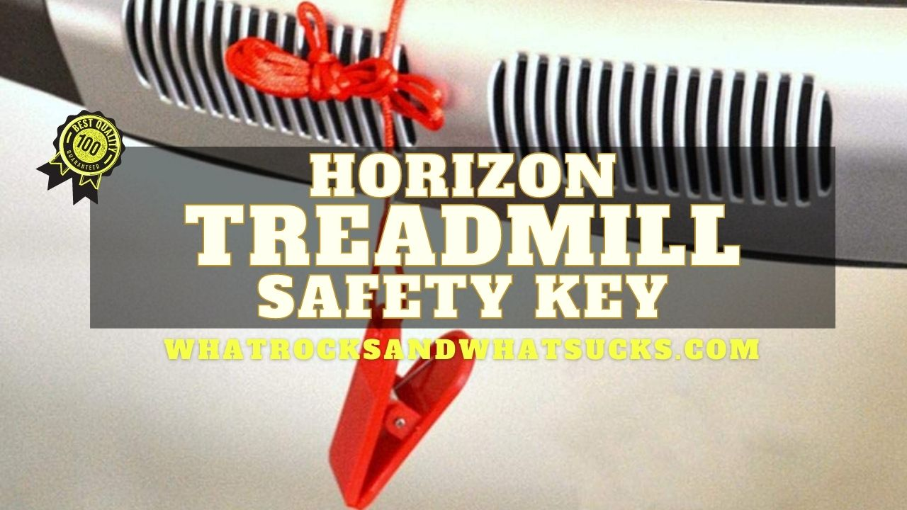 HORIZON T101 TREADMILL SAFETY KEY
