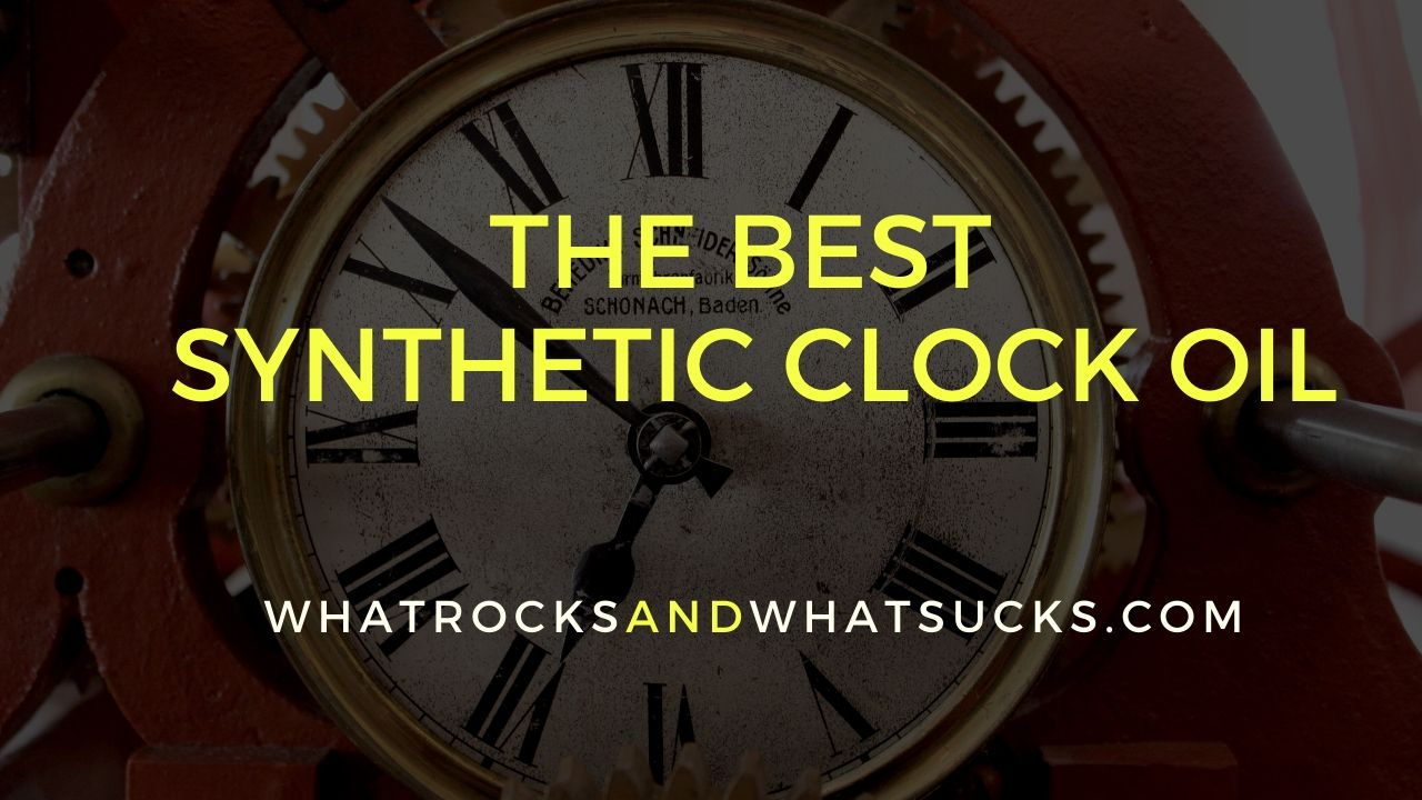 CLOCK OIL SYNTHETIC