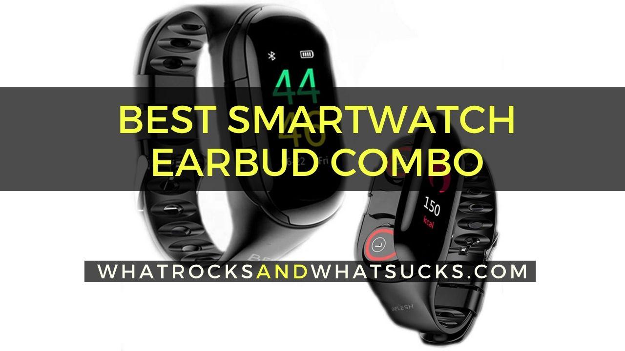 SMARTWATCH EARBUD COMBO