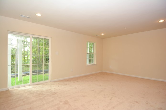 picture of an well lit empty room