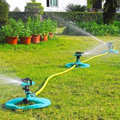 connected water sprinklers