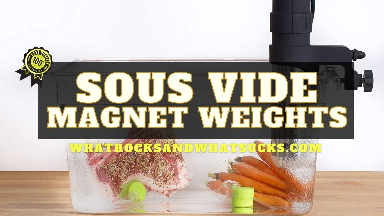 SOUS VIDE MAGNET WEIGHTS