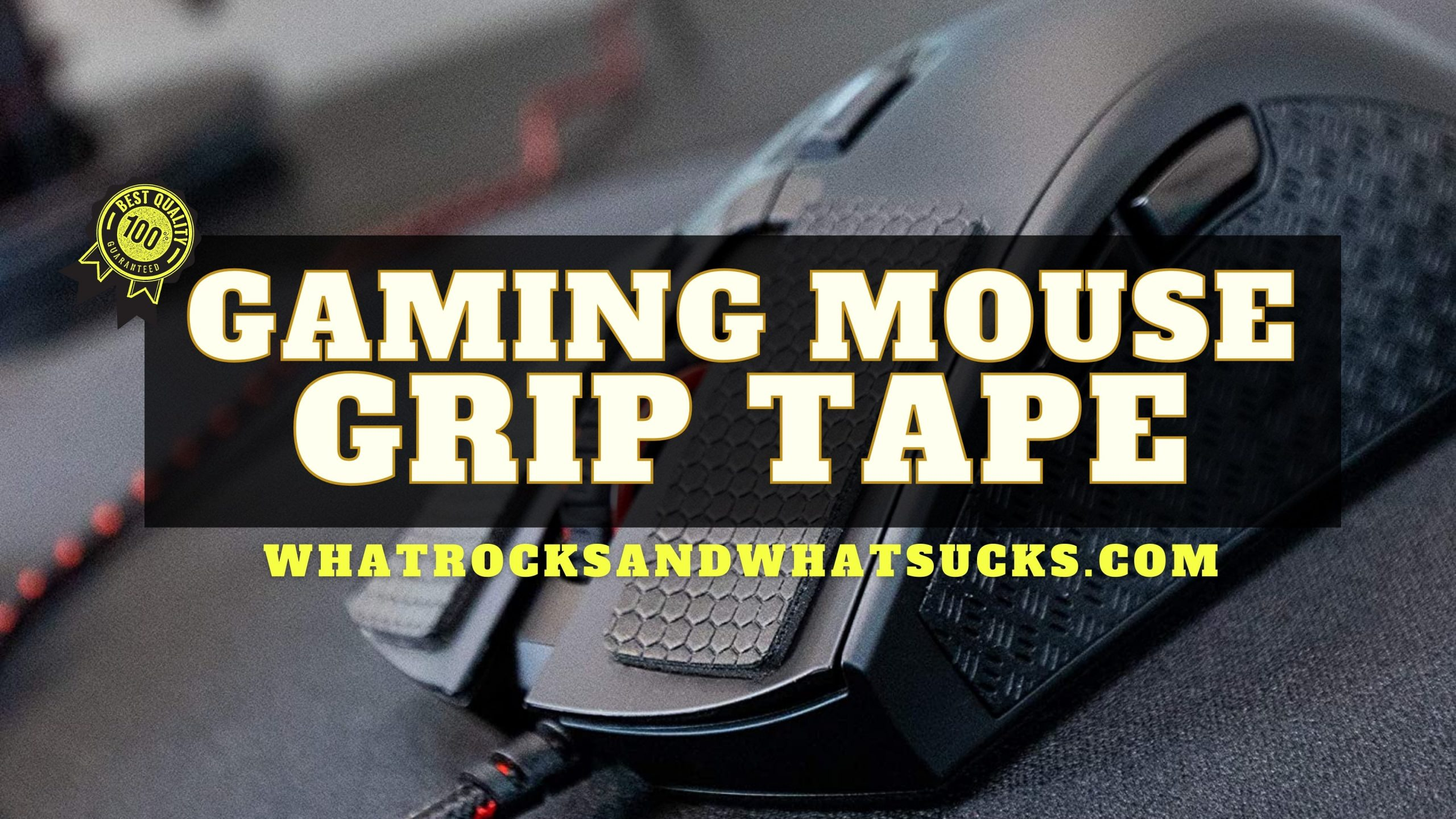 GAMING MOUSE GRIP TAPE