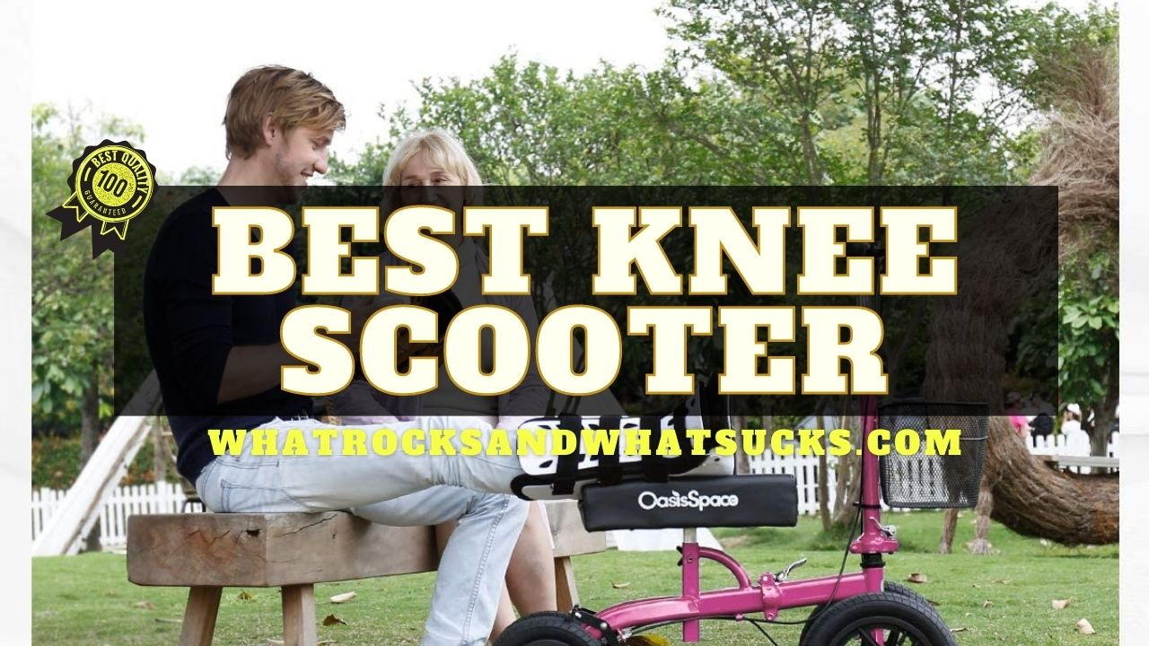 KNEE SCOOTER LARGE WHEELS