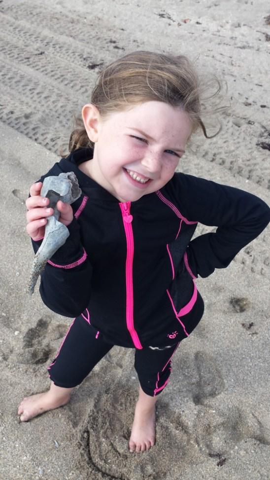 My sand writing shell