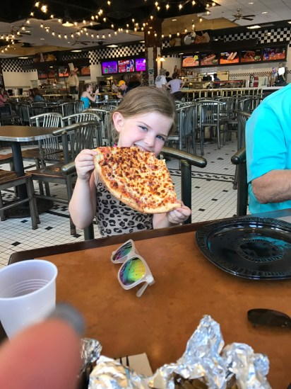 Disney sized pizza