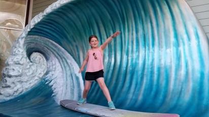 Surfer Ellie
