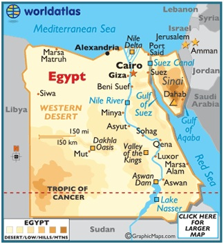 What Is The National Map of Egypt?