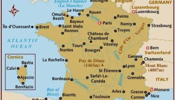 What Is The Economis Condition Of France WhatsAnswer - Latitude and longitude of france