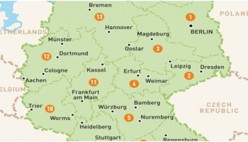 Capital Of Germany Map.What Is The National Capital Of Germany Whatsanswer