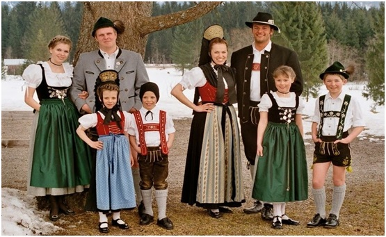 What is The National Dress of Germany?