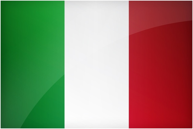What is The National Flag of Italy?