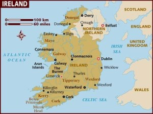 What Is The National Map of Ireland?