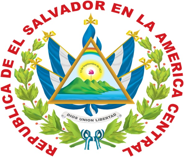 What is The National Coat of Arms of El Salvador?