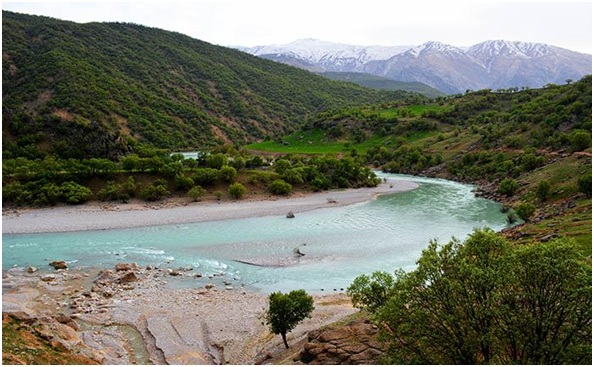 What is The National River of Iran?