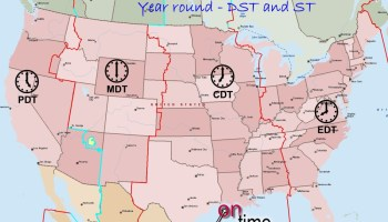 Details And Large Time Zone Map Of The USA | WhatsAnswer