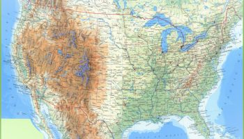 State wise large color map of the USA | WhatsAnswer