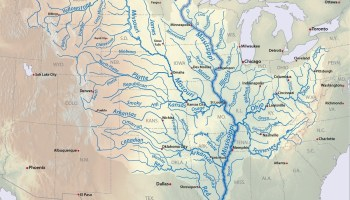 Great River Mississippi road map of the USA 3   WhatsAnswer