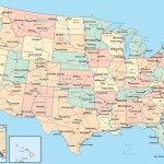 Political Map Of The United States With Major Rivers Whatsanswer