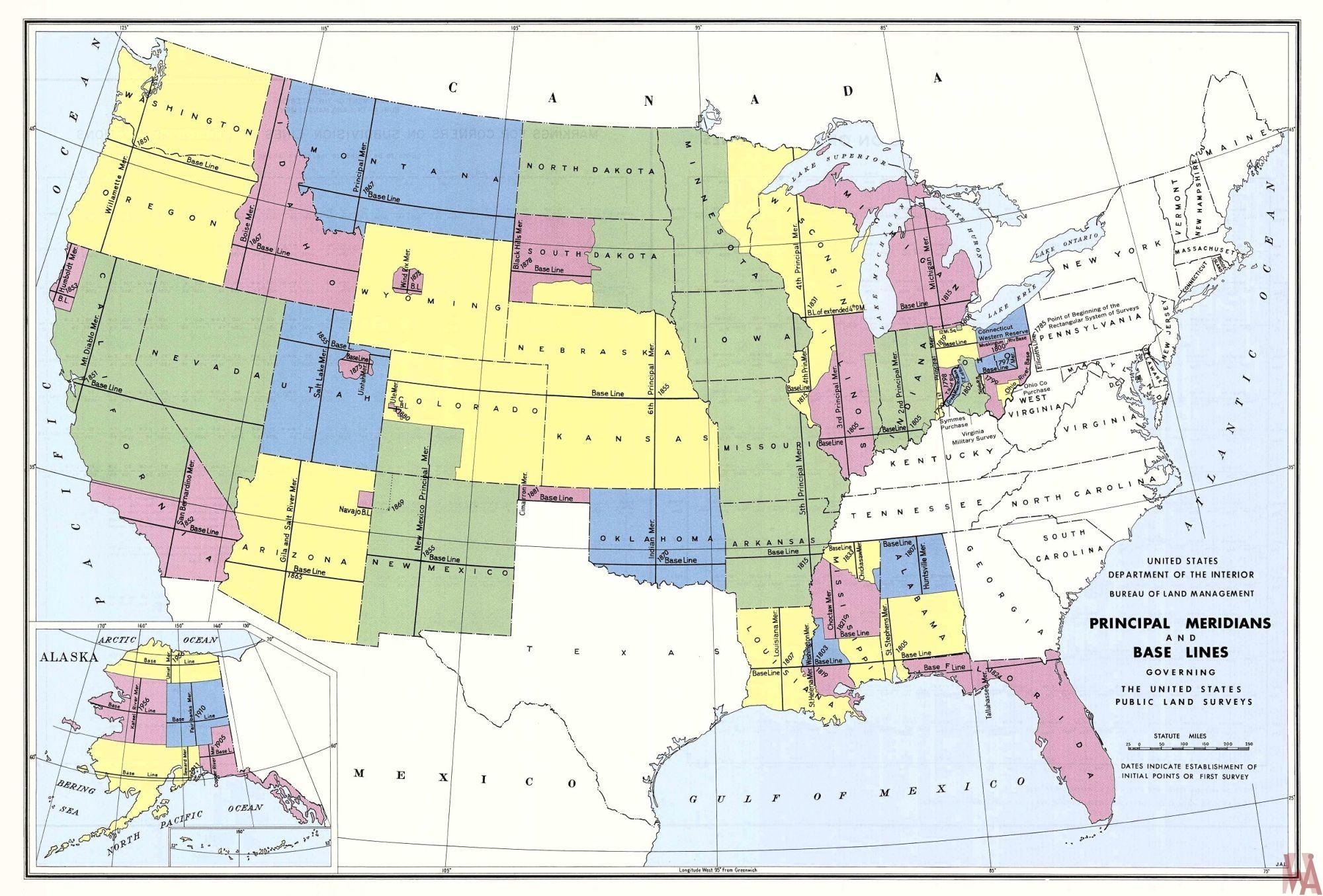Us Public Land Servery Map Whatsanswer - Us-full-map