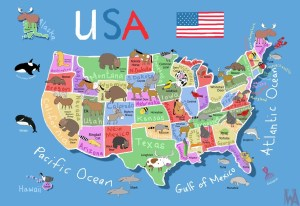 United States Animal Map