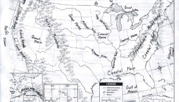 Rivers and Lakes Map of the United States | WhatsAnswer