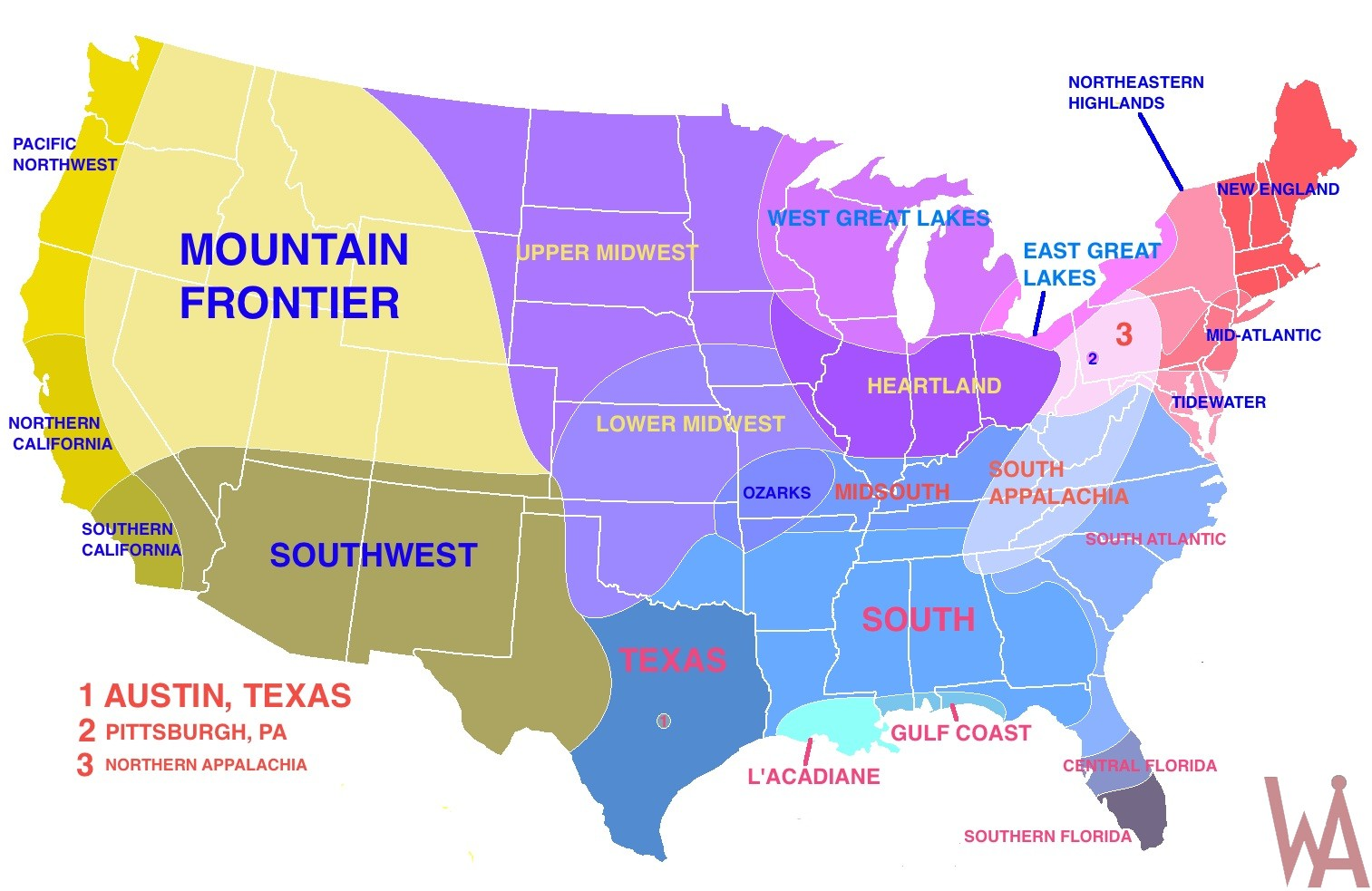 Picture of: Google Interactive Regional Map Of Usa Whatsanswer