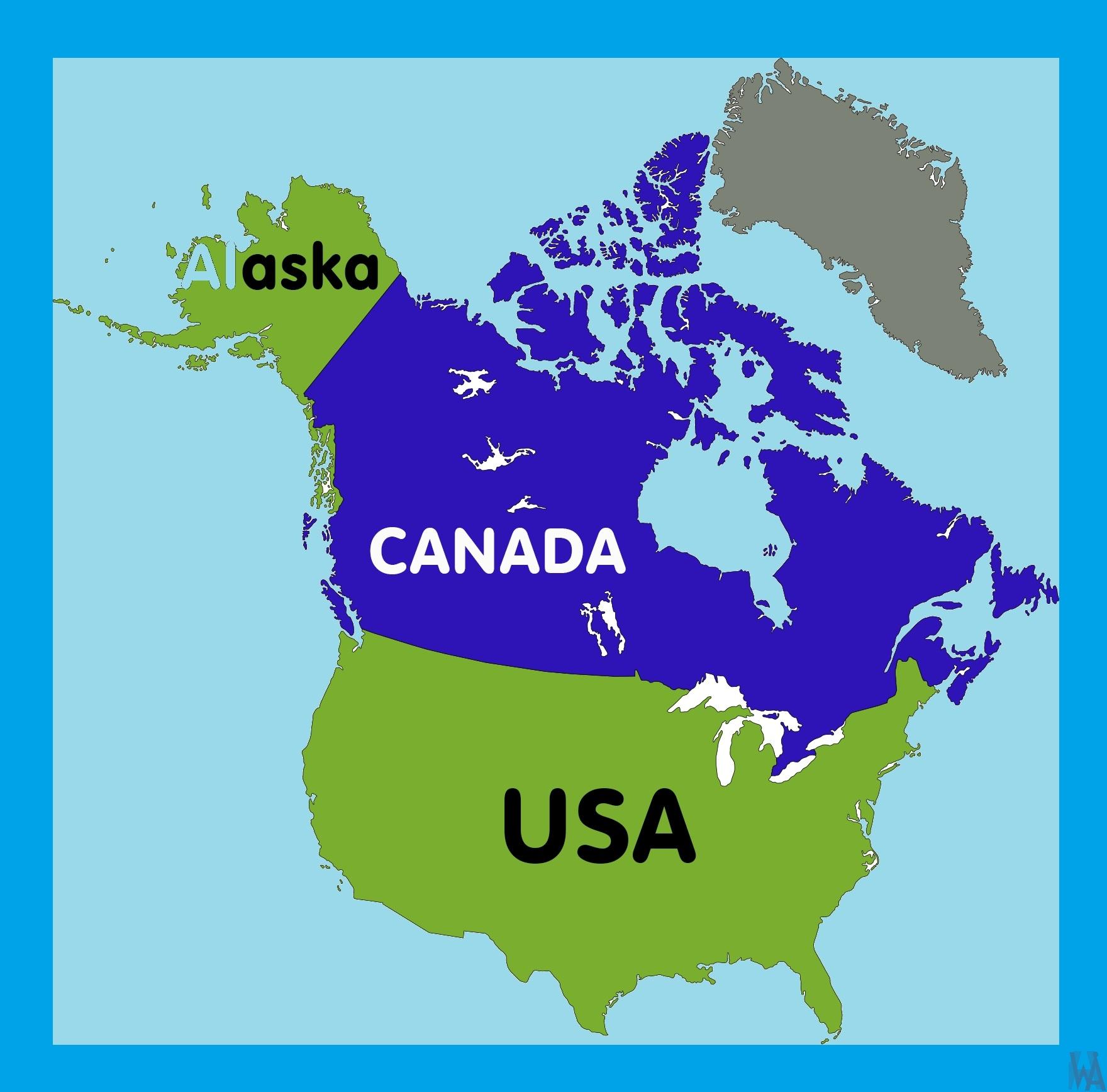 Alaska Location Map    Location  Map of Alaska