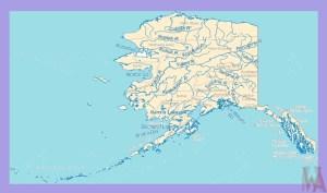 Alaska Rivers Map    Rivers  Map of Alaska – 2