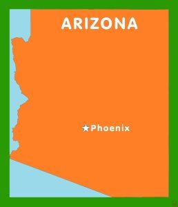 Arizona Capital  Map |  Capital  Map of Arizona