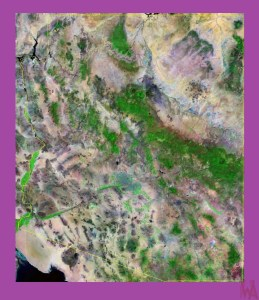Arizona Satellite Map |  Satellite  Map of Arizona