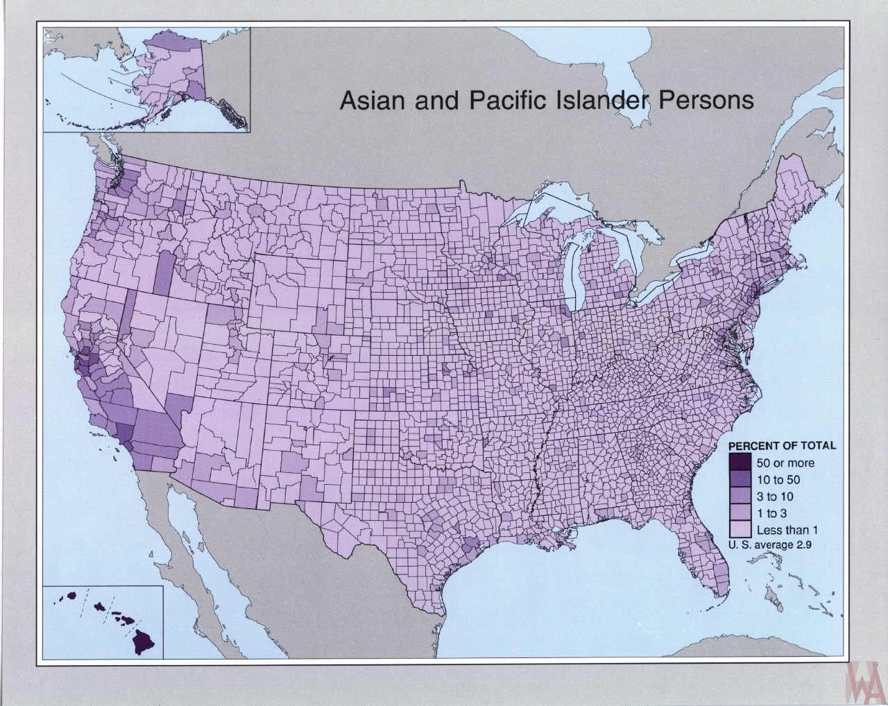 Asian and Pacific islander persons