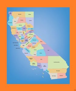California County Map – 1  | County Map of California
