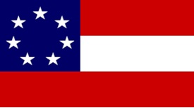 STATE FLAG OF ALABAMA