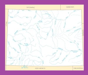 Colorado River Map | Large Printable and Standard Map