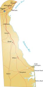 Map of Delaware | Political, Physical, Geographical, Transportation, And Cities Map
