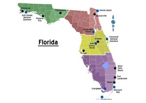 Florida City Map | Large Printable and Standard Map