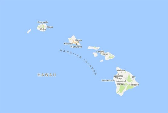 Hawaii Interactive Map | Large Printable and Standard Map
