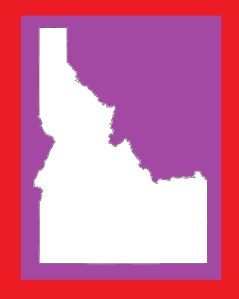 Idaho Blank Outline Map | Large Printable and Standard Map 7