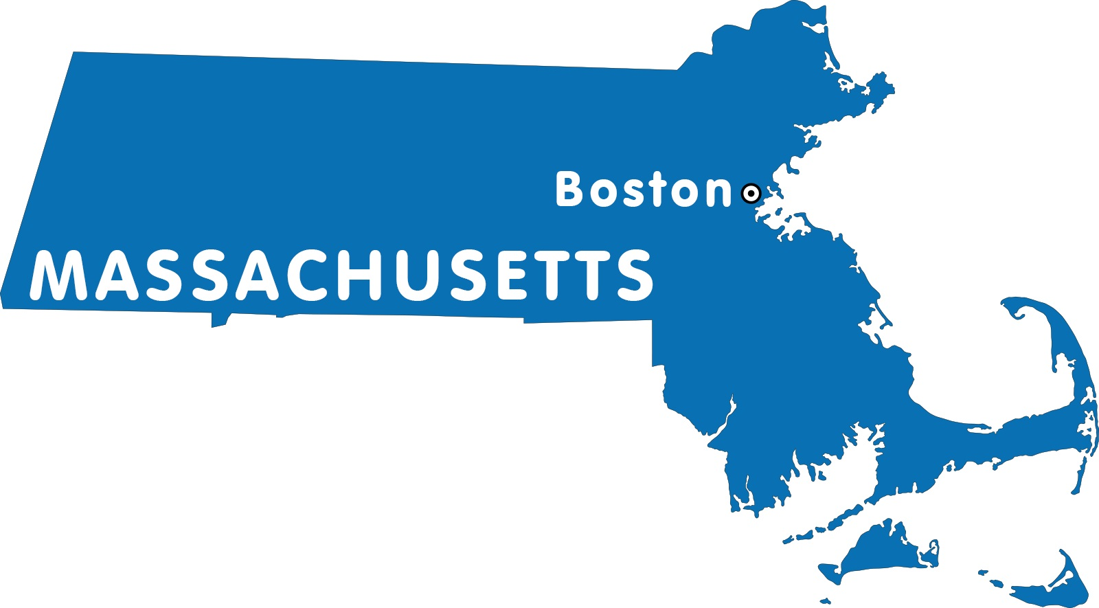 Massachusetts Capital Map | Large Printable High Resolution and Standard Map