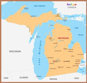 Michigan City Map | Large Printable High Resolution and Standard Map