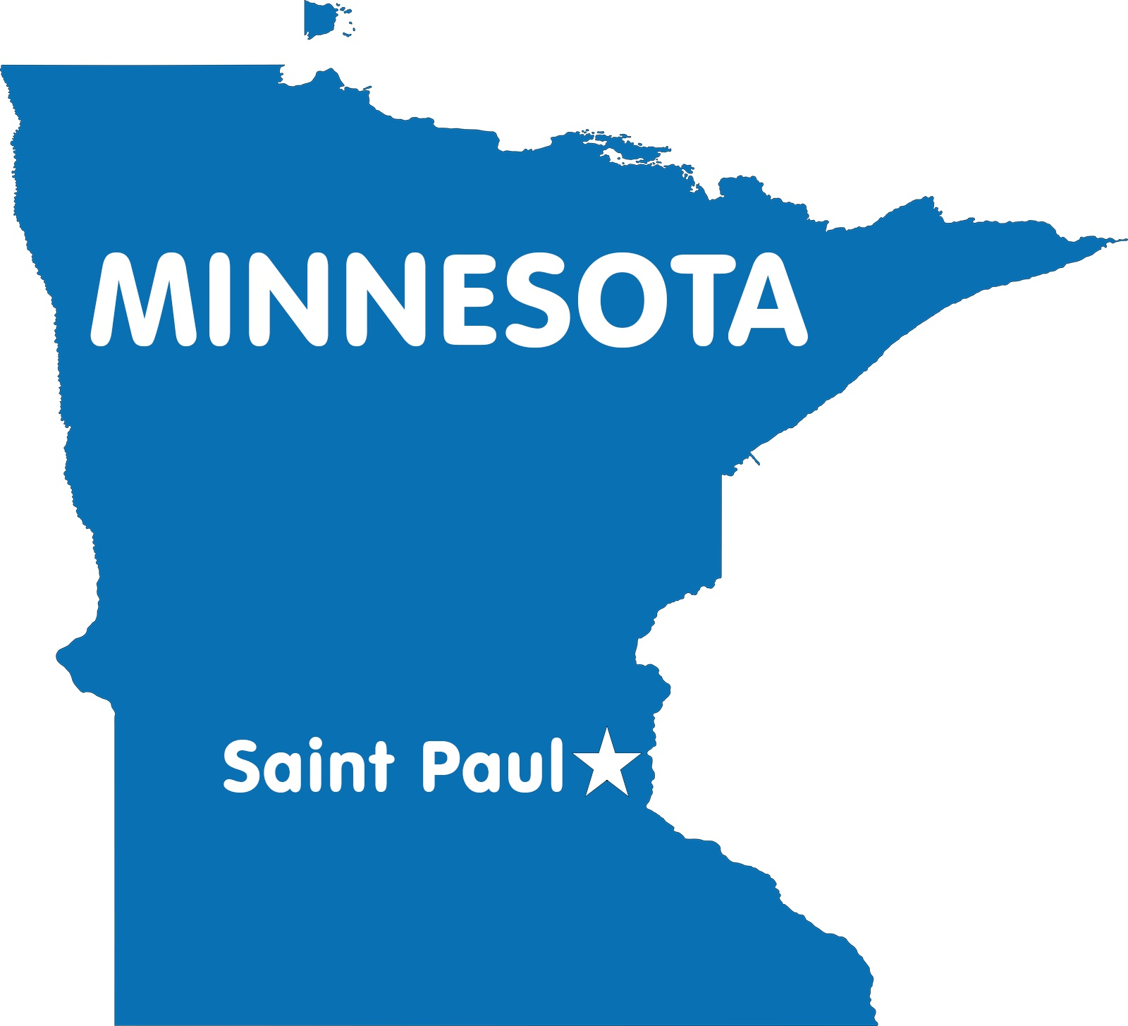 Minnesota Capital Map | Large Printable High Resolution and Standard Map