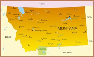 Montana City Map | Large Printable High Resolution and Standard Map
