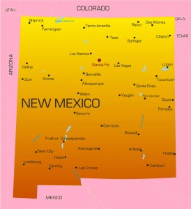 New Mexico City Map | Large Printable High Resolution and Standard Map