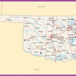 Oklahoma Political Map Large Printable High Resolution And Standard Map Whatsanswer