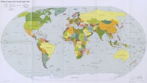 The World Political Map  | April 2006 | Large, Printable Downloadable Map