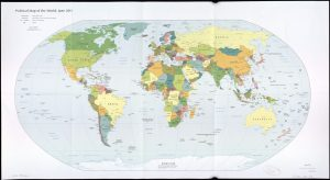 The World Political Map  | June 2011 | Large, Printable Downloadable Map