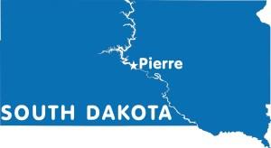 South Dakota Capital Map   Large Printable High Resolution and Standard Map