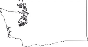 Washington blank outline Map   Large Printable High Resolution and Standard Map