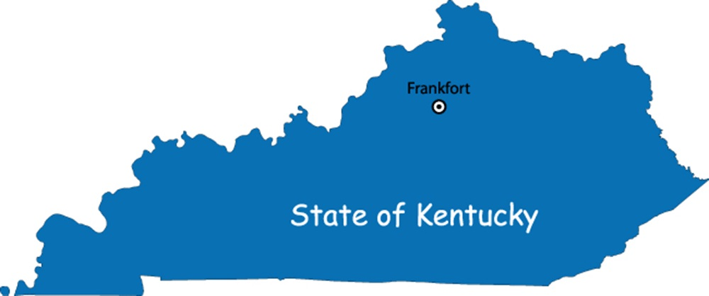 Kentucky Capital Map | Large Printable High Resolution and Standard Map